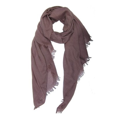 Pure & Cozy Schal Cotton/Wool dusty pink