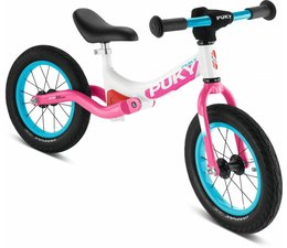 Puky Puky LR Ride loopfiets met luchtbanden Wit-Roze 3