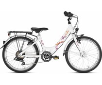 """Puky Puky Skyride 20"""" 6-versnelling wit 6+"""