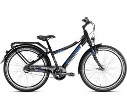 "Puky Puky Crusader ALU City (light) 24"" 3-speed zwart-blauw 8+"