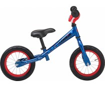 "Loekie kinderfietsen Showroom model - Loekie Loopfietsje kinderloopfiets 12"" DonkerBlauw 2,5+"