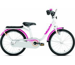 "Puky Puky 18"" kinderfiets Z8 wit Edition 4+"