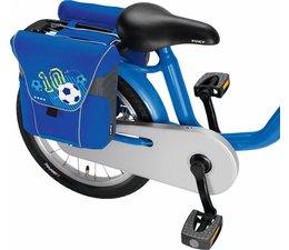 Puky Puky dubbele fietstas DT3 blauw voetbal