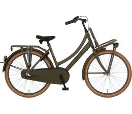 "Cortina Cortina U4 Transport Mini meisjesfiets 24"" 3-speed  Dark Olive Matt 8+"