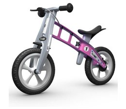 FirstBike FirstBIKE Basic Roze Met Handrem 2+