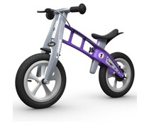 FirstBike FirstBIKE Basic Street Violet Met Handrem 2+