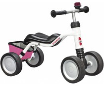 Puky Puky WUTSCH oefenfiets wit-roze special edition 1,5+