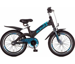 "Alpina kinderfietsen Alpina Brave kinderfiets 16"" Night Black Matt 4+"