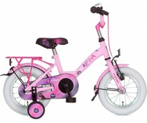 "Alpina kinderfietsen Alpina Girlpower 12"" Meisjesfiets Sparkle Pink 3+"