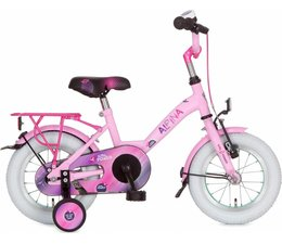 "Alpina kinderfietsen Alpina Girlpower 12"" Meisjesfiets Sparkle Pink 3+"