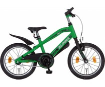 "Alpina kinderfietsen Alpina Trial jongensfiets 16"" Bright Green Matt 4+"