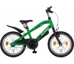 "Alpina kinderfietsen Alpina Trial jongensfiets 18"" Bright Green Matt 5+"