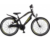 "Alpina kinderfietsen Alpina Trial jongensfiets 24"" 3 versnellingen Space Black Matt 8+"