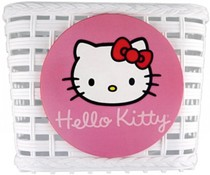 Hello Kitty Hello Kitty fietsmandje wit