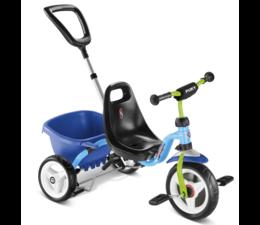 Puky Puky driewieler Cat 1 S met stuurvergrendeling Blauw 2+