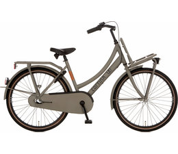 "Cortina Cortina U4 Transport Mini meisjesfiets 26"" 3-speed Quarz Grey Matt 10+"