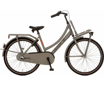 "Cortina Cortina U4 Transport Mini meisjesfiets 24"" 3-speed  Quarz Grey Matt 8+"