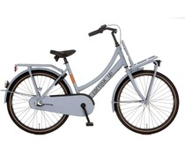 "Cortina Cortina U4 Transport Mini meisjesfiets 24"" 3-speed  Neutral Grey Matt 8+"