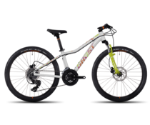BikeFun Ghost Lanao Kid Meisjes MTB 24  white/lime/orange