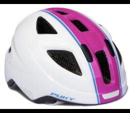 Puky Puky fietshelm medium wit-roze (51-56cm)