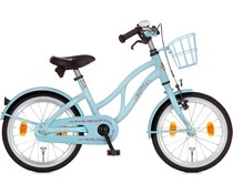 "Alpina kinderfietsen Alpina Ocean 18"" Meisjesfiets Winter Blue 5+"