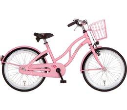 """Alpina kinderfietsen Alpina Ocean 22"""" Meisjesfiets Happy Pink Matt 6+"""