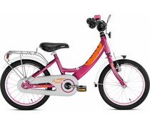 "Puky Showroom model - Puky 16"" kinderfiets Alu paars Berry Edition 3+"
