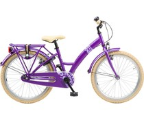 "Loekie kinderfietsen Showroom model - Loekie X-plorer 22"" Meisjesfiets Purple 6+"