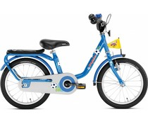 "Puky Showroom model - Puky 16"" kinderfiets Z6 blauw voetbal 3+ NEW"
