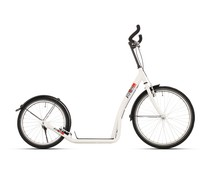 BikeFun Bike2go grote autoped 20-24 inch wit 12+
