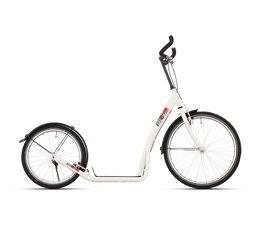BikeFun Bike2go grote autoped 20-24 inch wit 12+
