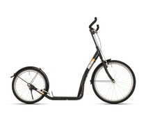 BikeFun Bike2go grote autoped 20-24 inch zwart 12+