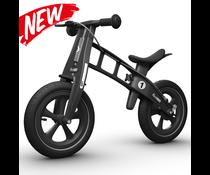FirstBike FirstBike loopfiets Limited Edition Zwart Met Rem 2+