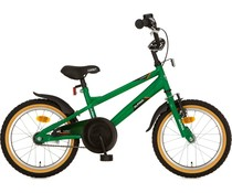 "Alpina kinderfietsen Alpina Comet jongensfiets 16"" Amazon Green 4+"