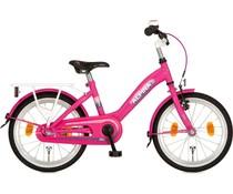 "Alpina kinderfietsen Alpina Girlpower 16"" Meisjesfiets Candy Pink 4+"