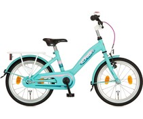 "Alpina kinderfietsen Alpina Girlpower 18"" meisjesfiets Mint Green 5+"