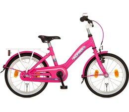 "Alpina kinderfietsen Alpina Girlpower 18"" meisjesfiets Candy Pink 5+"