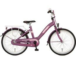 """Alpina kinderfietsen Alpina Girlpower 20"""" meisjesfiets Vivid Purple Matt 6+"""