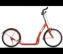 BikeFun Bike2go grote autoped rood 10+