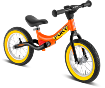 Puky Puky LR Ride loopfiets met luchtbanden Orange-Geel 3+