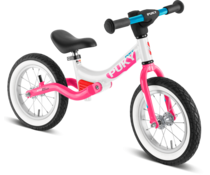 Puky Puky LR Ride loopfiets met luchtbanden Wit-Pink 3+