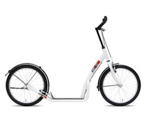 BikeFun Bike2go grote autoped wit 10+