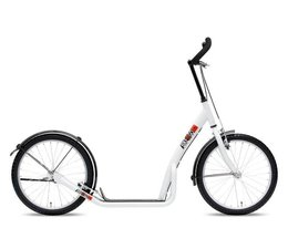 Bike2go grote autoped wit 10+