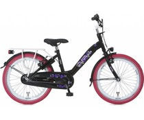 "Alpina kinderfietsen Showroom model - Alpina Girl Power 20"" meisjesfiets Black 6+"