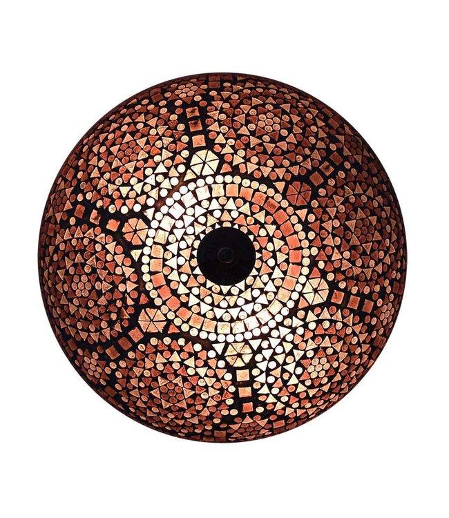 Arabische Plafonniere Mozaiek Paars Design Merel In Wonderland