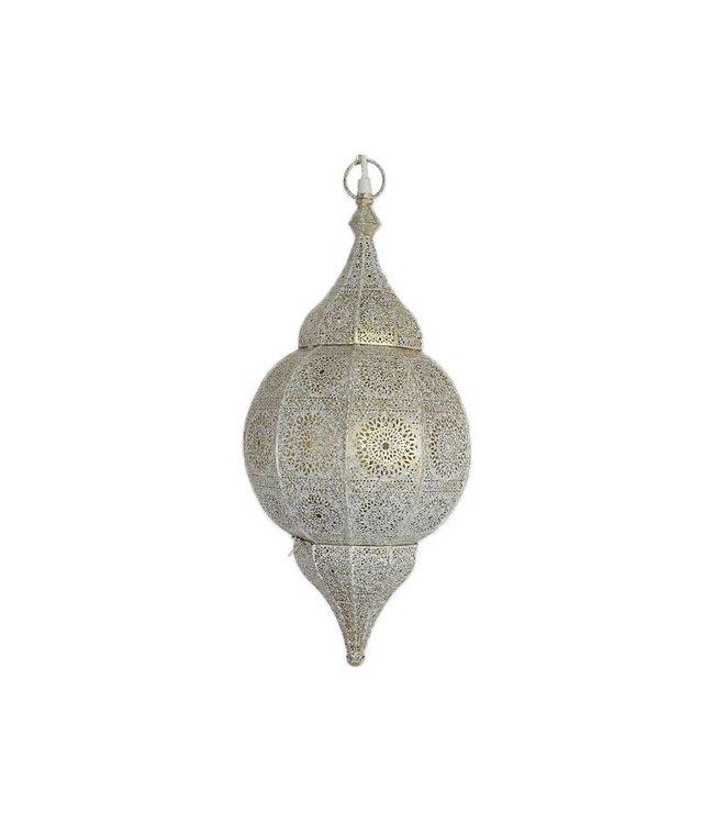 Fonkelnieuw Witte oosterse lamp met filigraan patronen - Merel in Wonderland OR-86