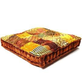 Goud bruin loungekussen