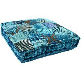 Turquoise matraskussen