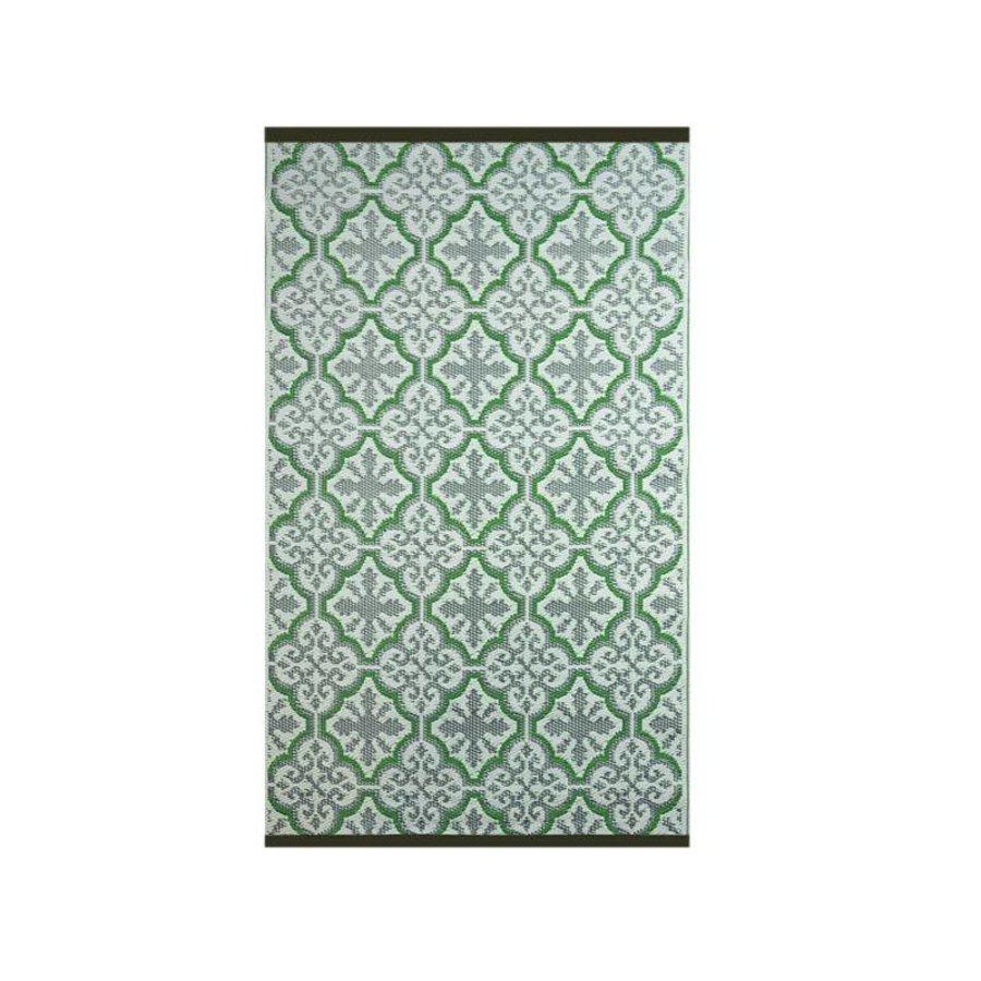 Wonder Rugs Buitentapijt perzisch groen paars