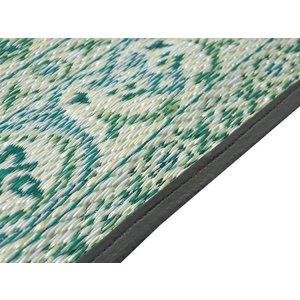 Wonder Rugs Groen tuincarpet oosters